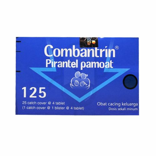 COMBANTRIN 125 MG BOX 100 TABLET