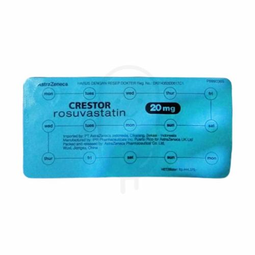 CRESTOR 20 MG TABLET