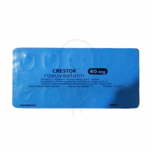 CRESTOR 40 MG STRIP 10 TABLET