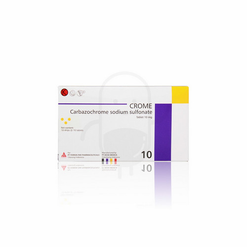 CROME 10 MG BOX 100 TABLET