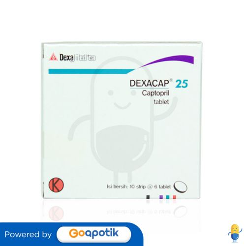 DEXACAP 25 MG BOX 60 TABLET