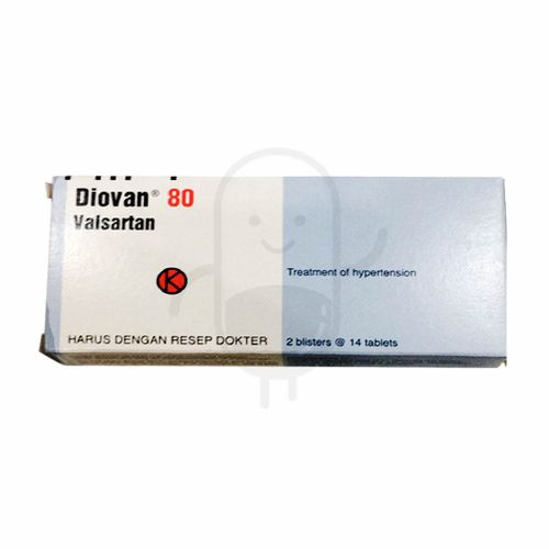 DIOVAN 80 MG BOX 28 TABLET