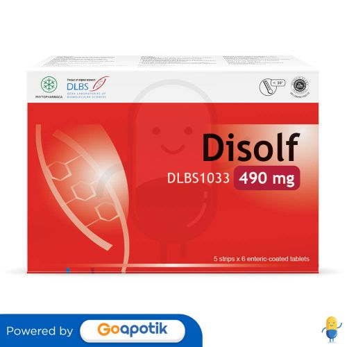 DISOLF 490 MG BOX 30 TABLET