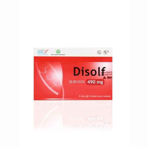 DISOLF 490 MG TABLET