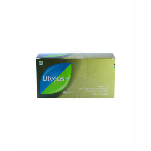 DIVENS PLUS STRIP 10 KAPSUL
