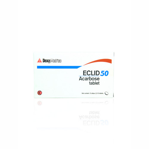 ECLID 50 MG STRIP 10 TABLET