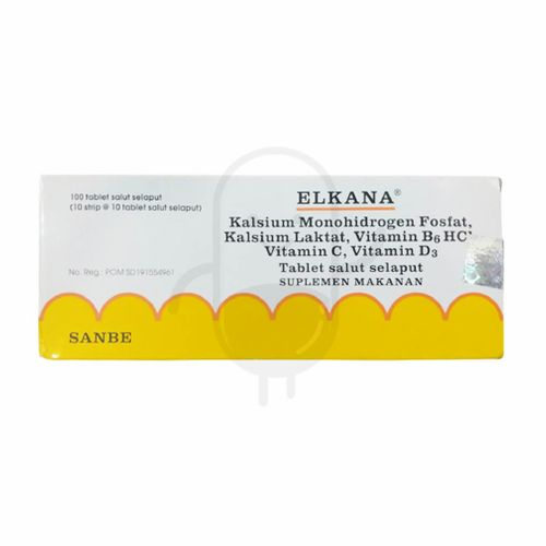 ELKANA BOX 100 TABLET