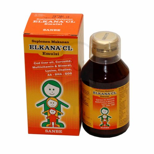 ELKANA CL 120 ML EMULSI