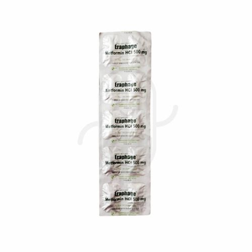 ERAPHAGE 500 MG KAPLET STRIP