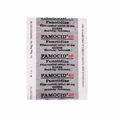 FAMOCID 40 MG STRIP 6 TABLET