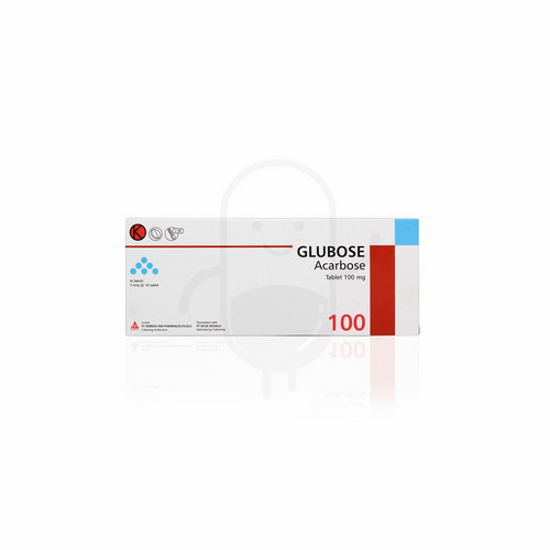 GLUBOSE 100 MG TABLET