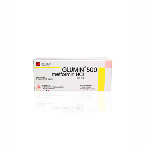 GLUMIN 500 MG BOX 50 TABLET