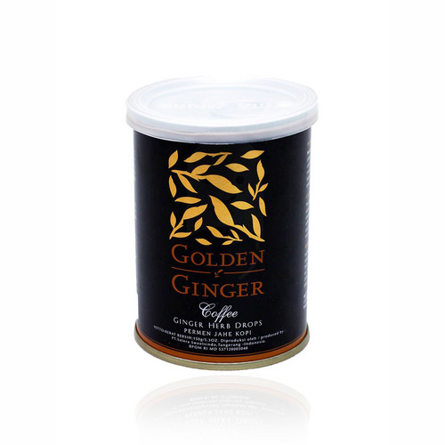 GOLDEN GINGER CAN HERB JAHE KOPI 150 GRAM