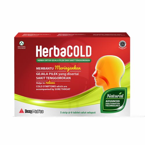 HERBACOLD STRIP 6 TABLET