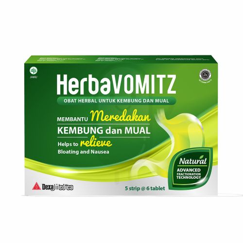 HERBAVOMITZ STRIP 6 TABLET