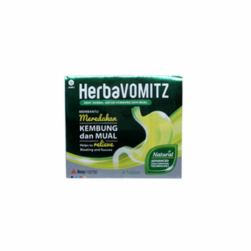 HERBAVOMITZ STRIP 4 TABLET