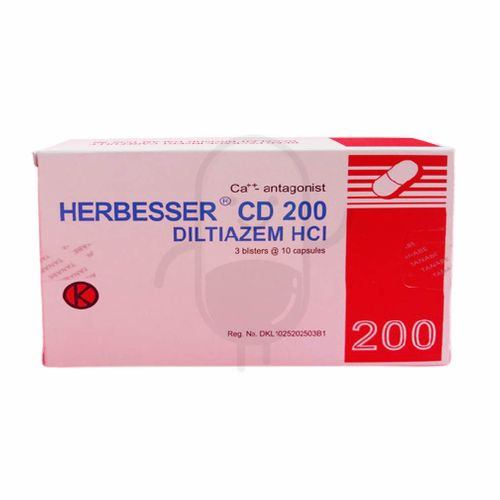 HERBESSER CD 200 MG BOX 30 TABLET