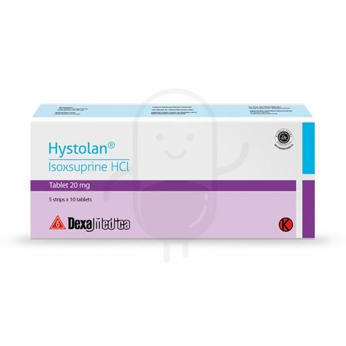 HYSTOLAN 20 MG BOX 50 TABLET
