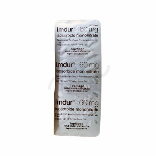 IMDUR 60 MG BLISTER 15 TABLET
