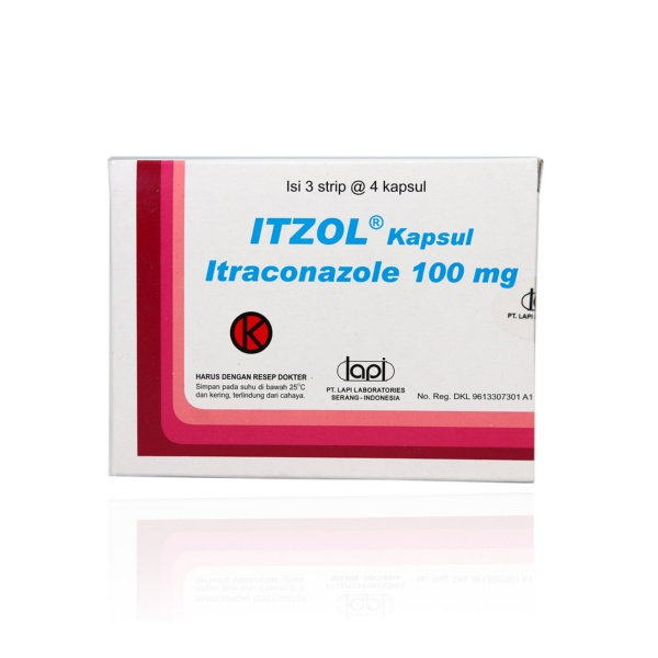 itzol-100-mg-kapsul-strip