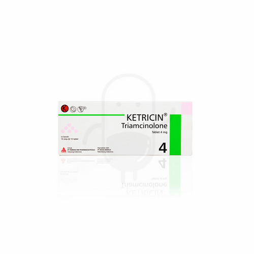 KETRICIN 4 MG TABLET