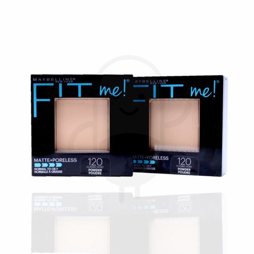 MAYBELLINE FIT ME MATTE + PORELESS POWDER 120 - CLASSIC IVORY