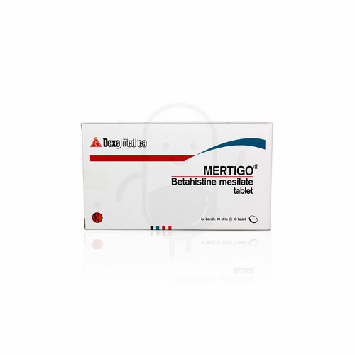 MERTIGO 6 MG STRIP 10 TABLET