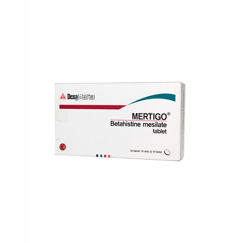 MERTIGO 6 MG TABLET