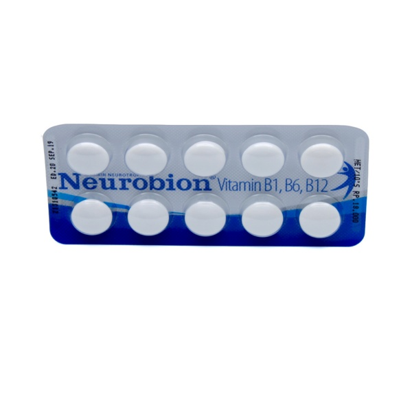 neurobion-tablet-box