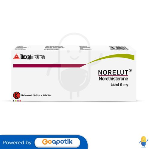 NORELUT 5 MG BOX 50 TABLET