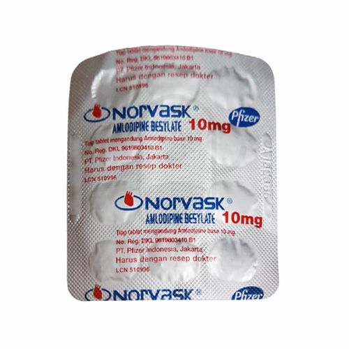NORVASK 10 MG TABLET
