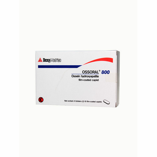 OSSORAL 800 MG BOX 60 KAPLET
