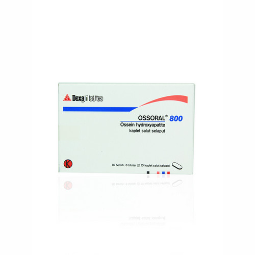 OSSORAL 800 MG STRIP 10 KAPLET