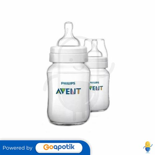 PHILIPS AVENT CLASSIC SCF563/27 BOTOL SUSU BAYI 260 ML BOX 2 PCS