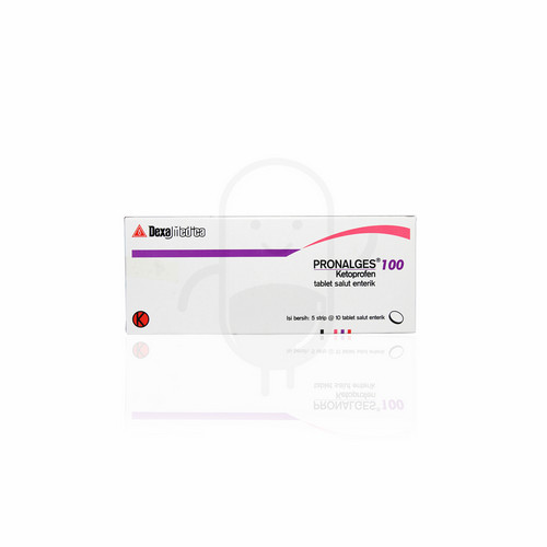PRONALGES 100 MG STRIP 10 TABLET