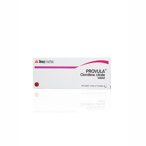 PROVULA 50 MG STRIP 10 TABLET