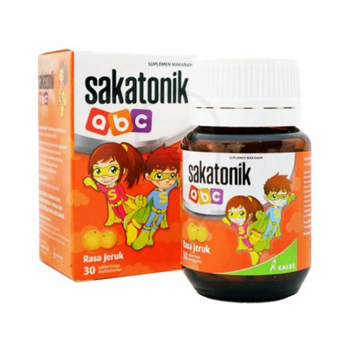 SAKATONIK ABC RASA JERUK TUBE 30 TABLET