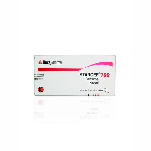 STARCEF 100 MG BOX 30 KAPSUL