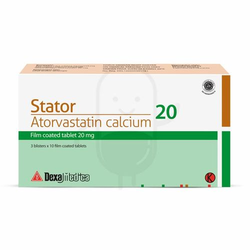 STATOR 20 MG BOX 30 TABLET