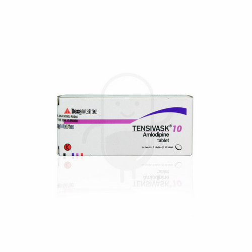 TENSIVASK 10 MG STRIP 10 TABLET