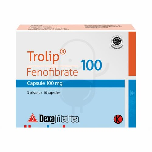 TROLIP 100 MG BOX 30 KAPSUL