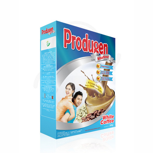 PRODUGEN VITAFIRST RASA WHITE COFFEE 245 GRAM BOX