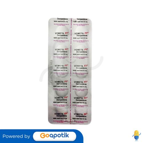 VOMETA FT 10 MG STRIP 10 TABLET